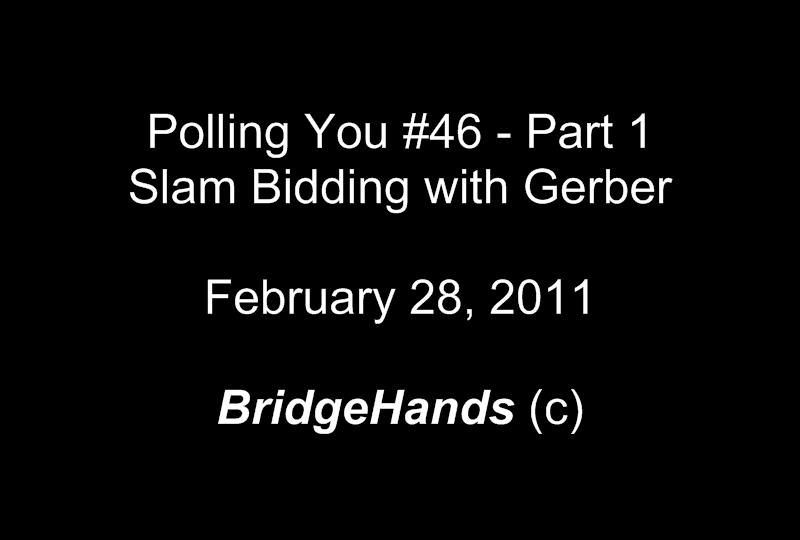 Gerber (4C Club) Slam Ace Asking: Bridge Bidding Convention